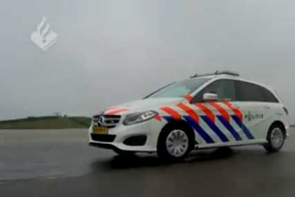 The new patrol cars of the National Police