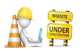 "Website ""under construction"""